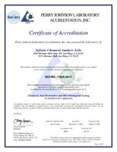 CBD 成分分析 ISO認証取得証明書